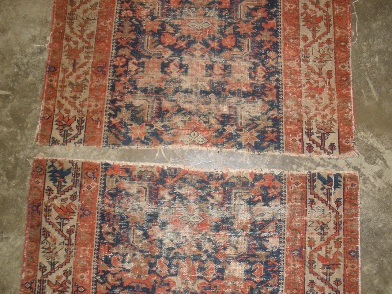 Persian Antique Rug Restoration