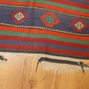 Kilim cleaning